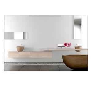 infrarotheizung infranomic spiegel rahmenlos 848 manketech gmbh. Black Bedroom Furniture Sets. Home Design Ideas