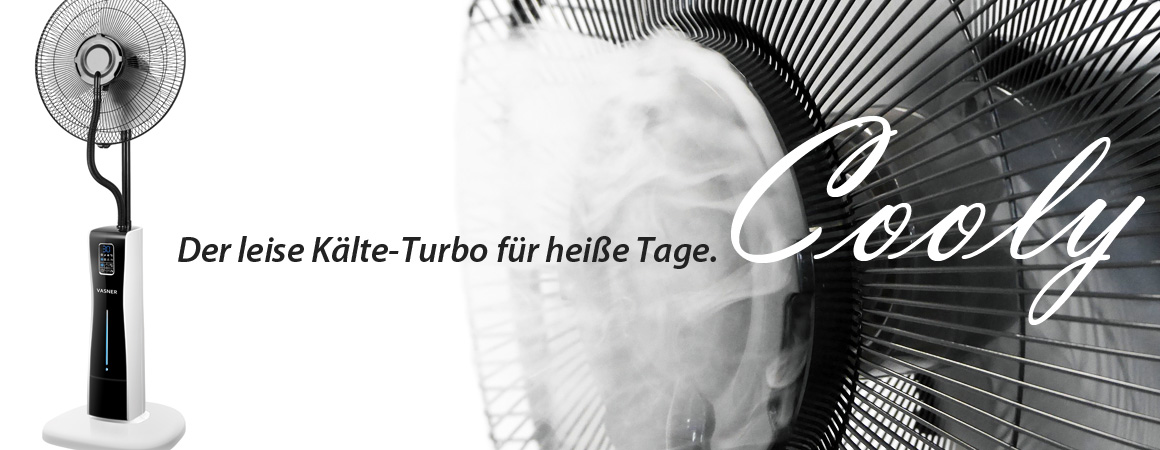Ventilator sprühnebel test