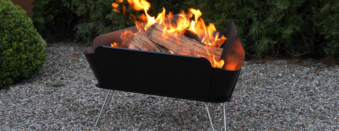 Die Feuerkörbe für angenehme Wärme und lebhafte Flammen