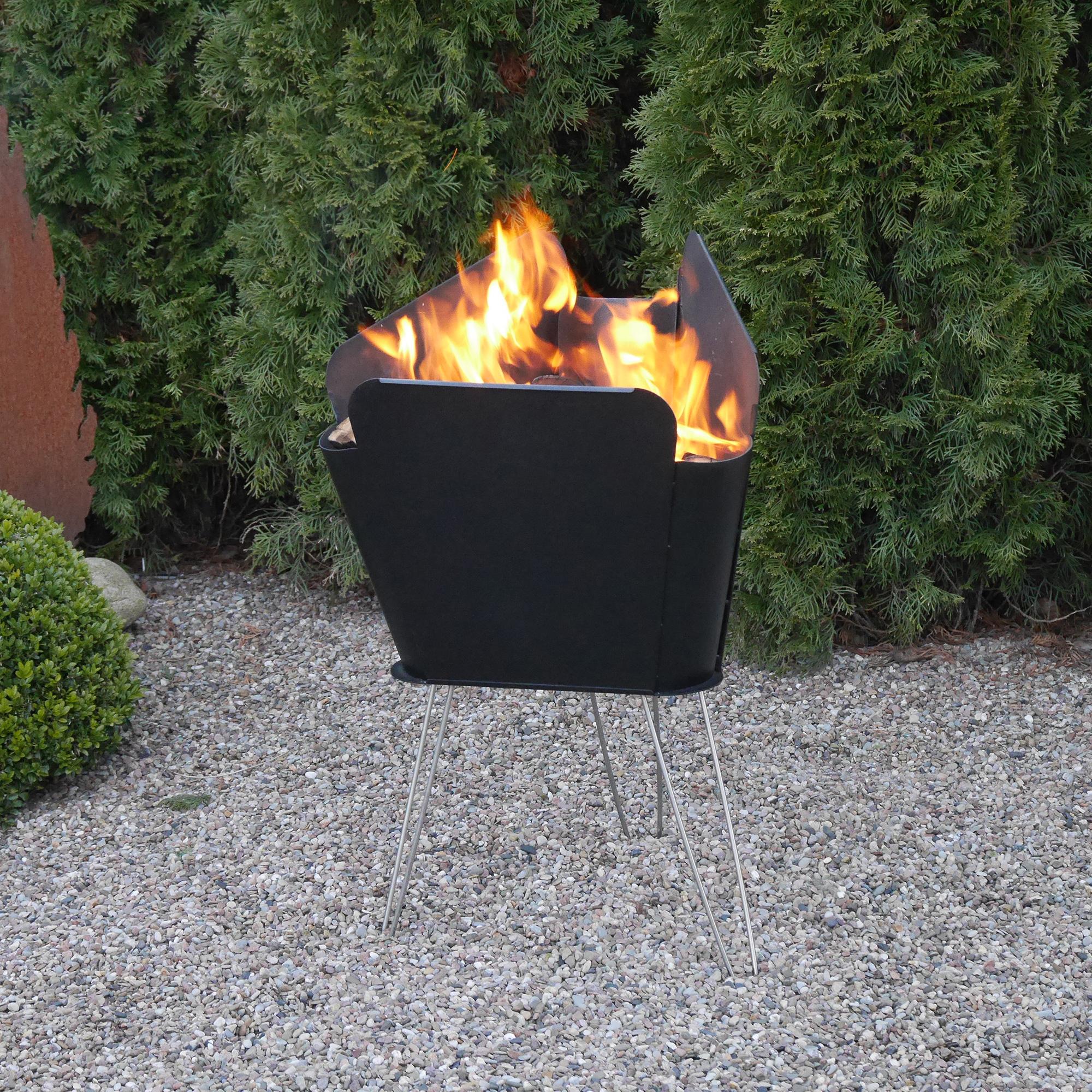 vasner merive feuerstellen serie – neue design feuerkörbe für den