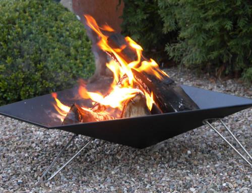 VASNER Merive Feuerstellen Serie – Neue Design Feuerkörbe für den Garten