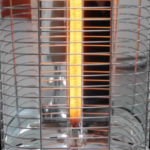2500 Watt Carbon Power des VASNER StandLine Infrarot Standheizstrahlers