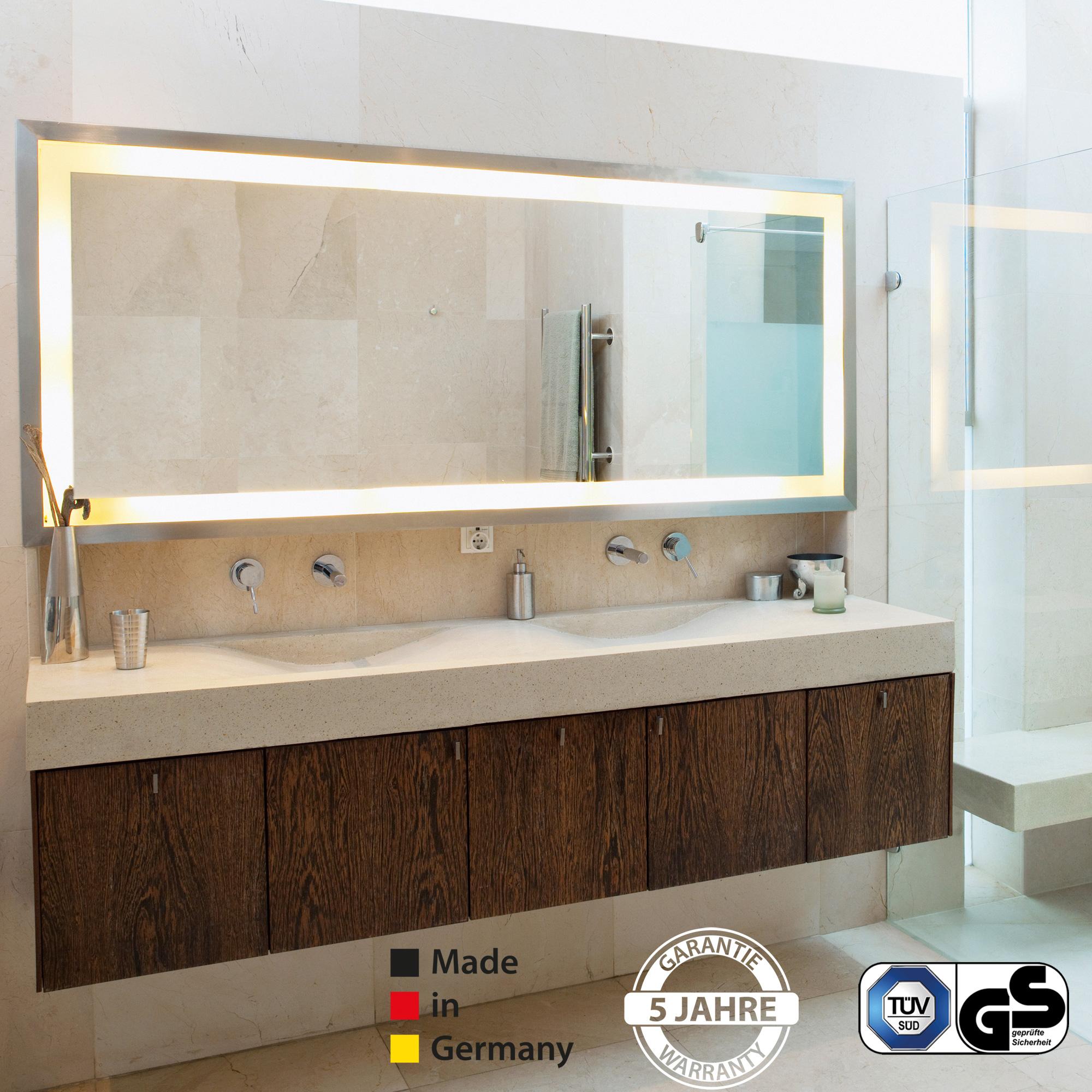 Badspiegel Mit Licht Interesting Badspiegel Mit Beleuchtung With