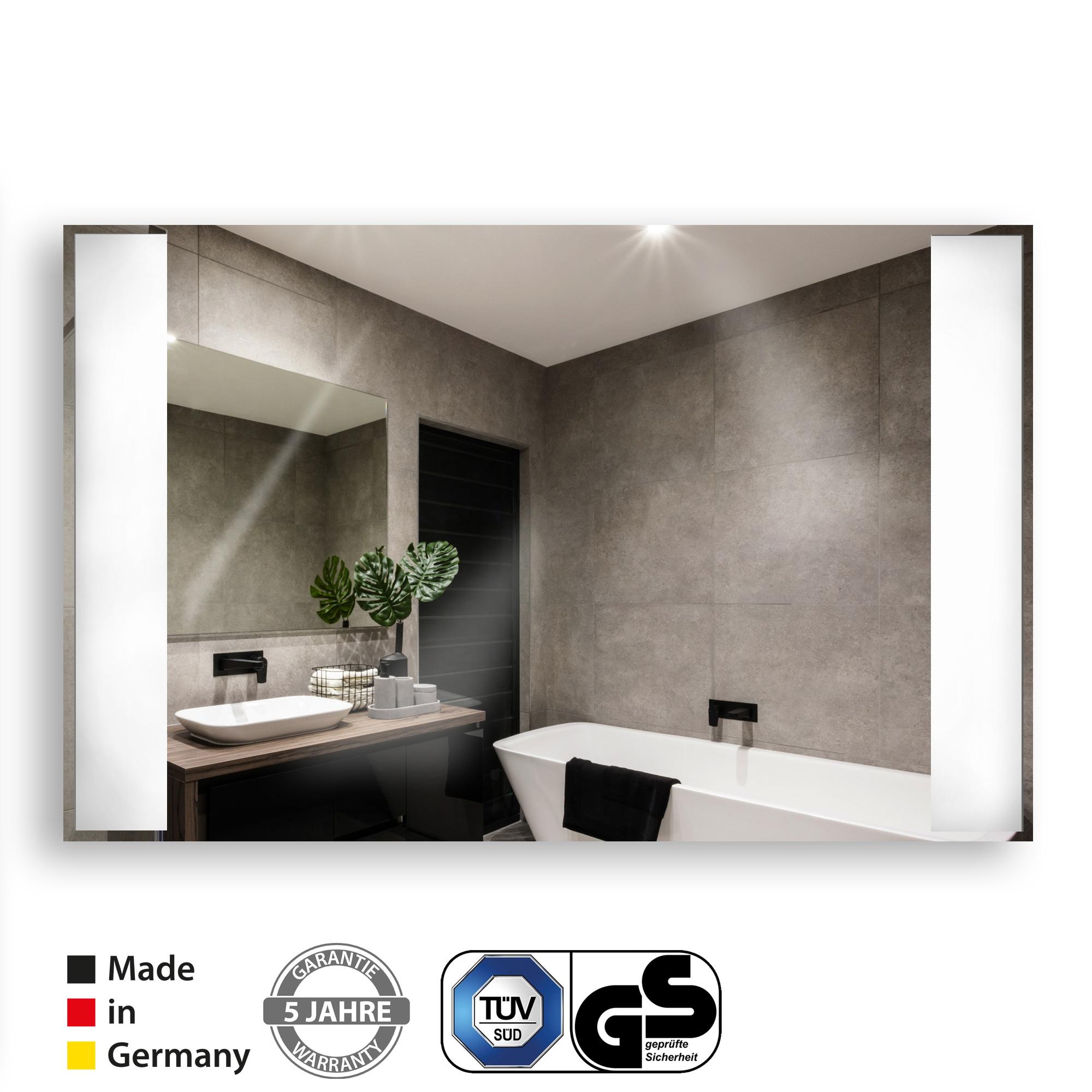 VASNER-Zipris-S-LED-Spiegel-Infrarotheizung Stilvolle Spiegel Mit Integrierter Beleuchtung Dekorationen