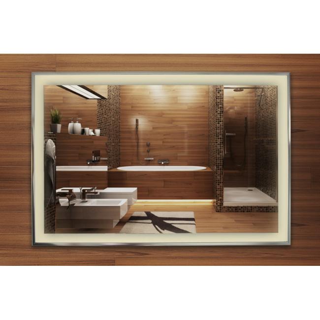 neue infrarot spiegelheizung mit led beleuchtung. Black Bedroom Furniture Sets. Home Design Ideas